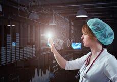 Technologies innovatrices en science et médecine Photographie stock libre de droits