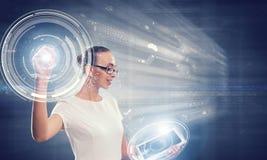 Technologies innovatrices en service Photos libres de droits