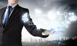 Technologies innovatrices pour des affaires réussies Images libres de droits