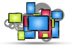 Technologies mobiles illustration libre de droits