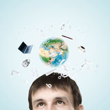 Technologies modernes illustration libre de droits