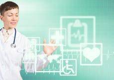 Technologies modernes dans la médecine Photo libre de droits