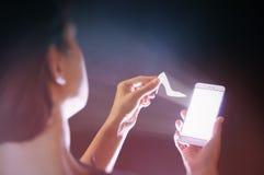 Technologies modernes dans le marketing Image stock
