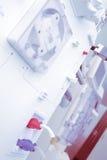 Technologies modernes de laboratoire dans la recherche médicale Image stock