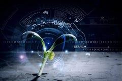 Technologies modernes pendant la nouvelle vie Images stock