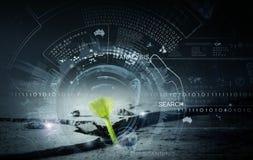 Technologies modernes pendant la nouvelle vie Photos stock