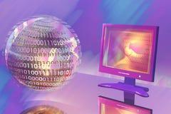 Technologies neuves Image libre de droits
