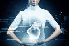 Technologies neuves dans la médecine Images libres de droits