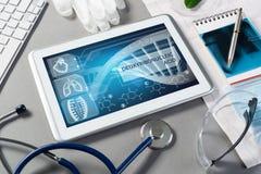 Technologies numériques dans la médecine Photographie stock