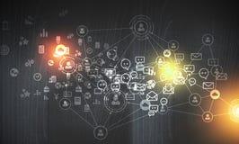 Technologies pour la connexion images stock