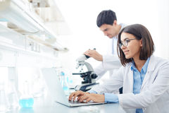 Technologies in science Stock Image