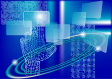 Technologiesamenvatting Stock Fotografie
