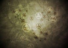 Technologieschmutz-Zusammenfassungshintergrund Lizenzfreie Stockbilder