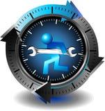 Technologiesteun van de knoop Stock Foto's
