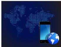 Technologietapetenauslegung Lizenzfreie Stockfotografie