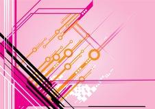 Technologievektor Lizenzfreies Stockfoto