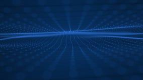 Technologiewellenhintergrund Stockfotografie