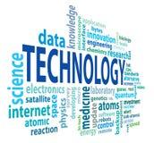 Technologiewolke Lizenzfreie Stockfotografie