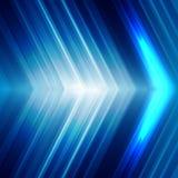Technologii abstrakcjonistyczne linie Zdjęcia Stock