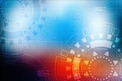 Technologii Abstrakcjonistyczny tło, futurystyczny tło, cyberprzestrzeni pojęcie Obraz Stock