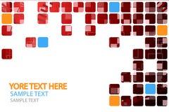 Technologii Abstrakcjonistyczny tło z siatką 7 Obrazy Stock