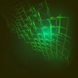 Technologii abstrakcjonistyczny tło Zdjęcia Stock
