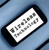 Technologii bezprzewodowej pojęcie Zdjęcie Stock