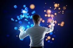 Technologii cyfrowej pojęcie Zdjęcia Royalty Free