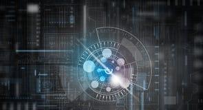 Technologii cyfrowej tło Zdjęcie Stock