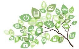 Technologii drzewo ilustracja wektor