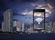 Technologii i interneta pojęcie Obrazy Stock