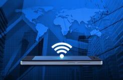 Technologii i interneta pojęcie, elementy ten wizerunku furnishe Zdjęcie Stock