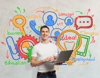 Technologii i komunikaci pojęcie Fotografia Royalty Free