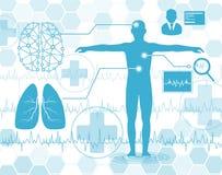 Technologii i nauki pojęcie ilustracji