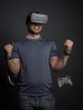 Technologii i wideo gier nałóg i nowożytna choroba psychiczna Zdjęcia Royalty Free