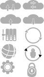 Technologii ikony set Zdjęcie Royalty Free