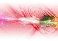 Technologii ilustracyjny tło Zdjęcie Stock