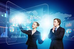 Technologii innowacje Fotografia Stock
