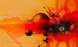 technologii kosmicznej ilustracja wektor