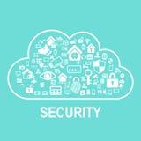 Technologii ochrony pojęcie ilustracja wektor