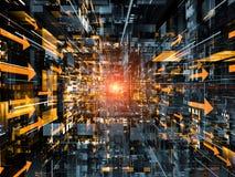 Technologii Przestrzeń Zdjęcia Stock
