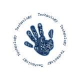 Technologii ręka Zdjęcie Royalty Free