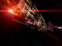 technologii sieć Zdjęcie Royalty Free