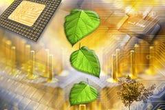 Technologii tło ilustracji