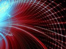 Technologii tło - abstrakta cyfrowo wytwarzający wizerunek Zdjęcie Stock