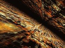 Technologii tło - abstrakta cyfrowo wytwarzający wizerunek Obrazy Stock
