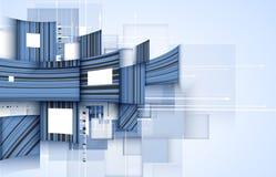 Technologii tło, pomysł globalnego biznesu rozwiązanie Obrazy Royalty Free
