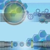Technologii tło Zdjęcia Stock