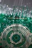 Technologii zaawansowany technicznie tło zdjęcie stock