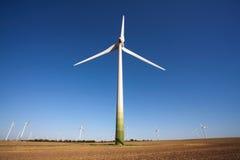 technologii zielony windpower Zdjęcia Stock